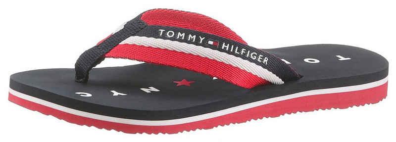 Tommy Hilfiger »Mellie 13« Zehentrenner mit Logo ausf der Laufsohle