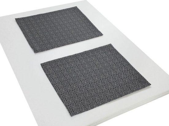 Platzset, »Graphic Ventus«, Adam, (Packung, 2-St)