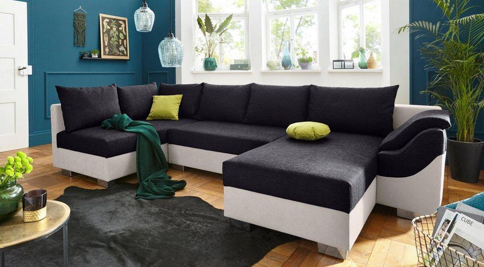 Collection Ab Wohnlandschaft Inklusive Bettfunktion Und Bettkasten