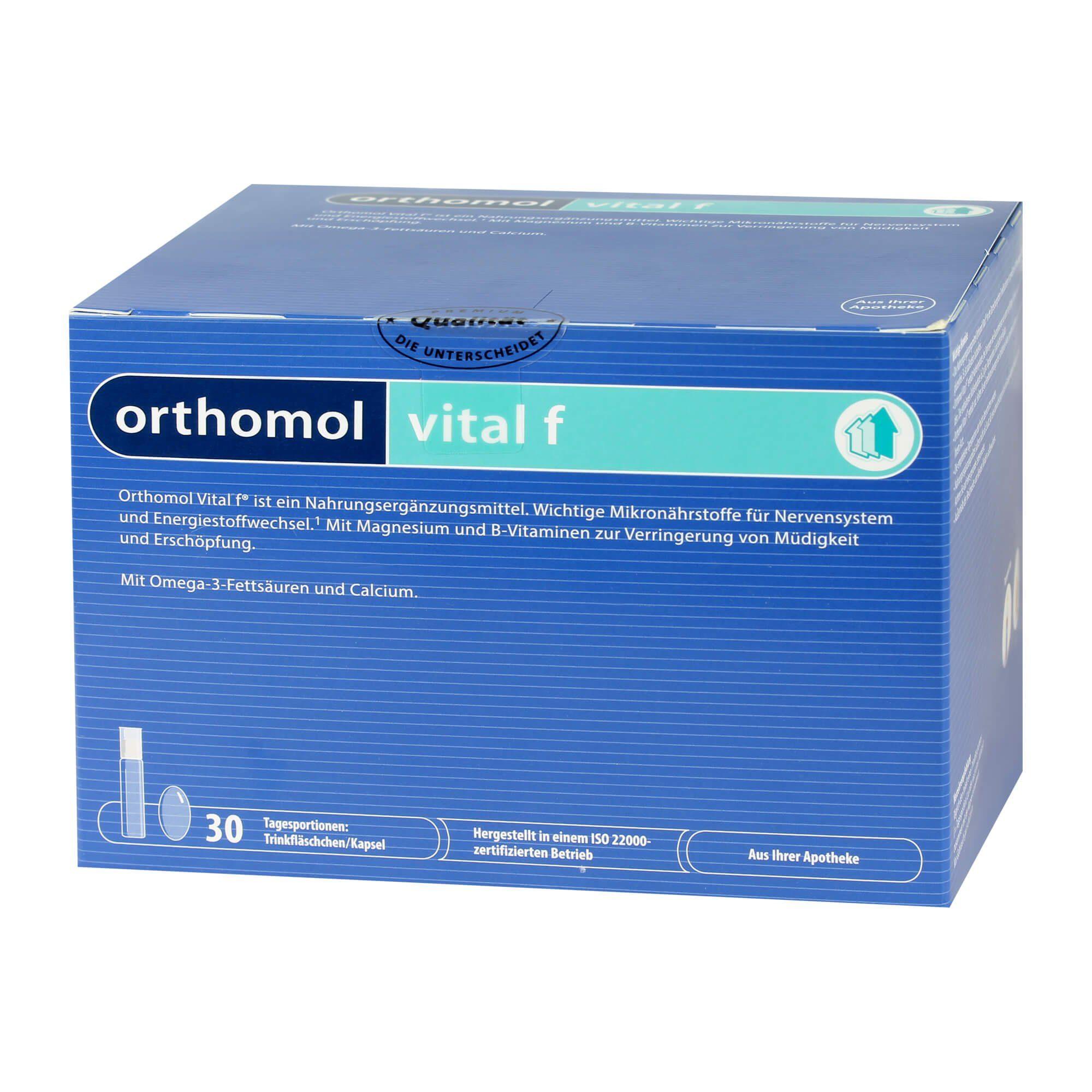 Orthomol Orthomol Vital F Trinkfläschchen , 30 St