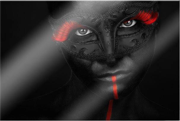 Acrylglasbild »Petkov - Dark Passion« 60/0,5/40 cm