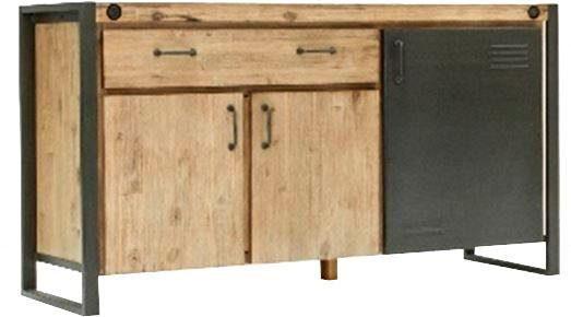 Quadrato Sideboard »Forrest« mit individuellem Induastrial-Touch, Breite 150 cm