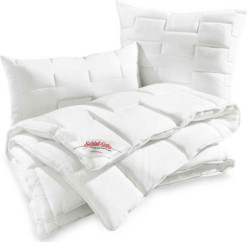 4 Jahreszeitenbett Utah Schlaf Gut 4 Jahreszeiten Bezug 50 Baumwolle 1 Tlg Online Kaufen Otto