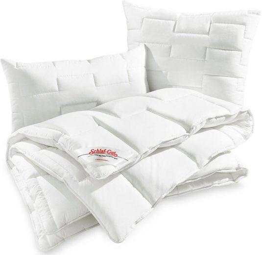 4-Jahreszeitenbett, »Utah«, Schlaf-Gut, 4-Jahreszeiten, Bezug: 50% Baumwolle, (1-tlg)