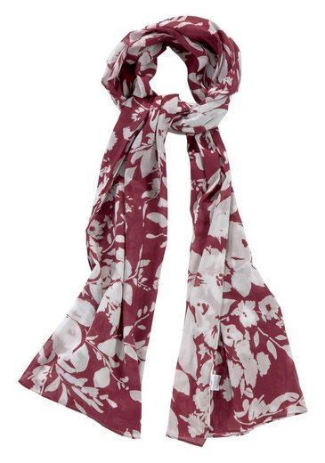 GUIDO MARIA KRETSCHMER Modeschal mit floralem Print, Reine Baumwolle