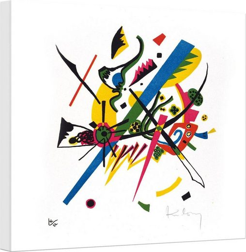 Leinwandbild »Kandinsky - Kleine Welten 1«