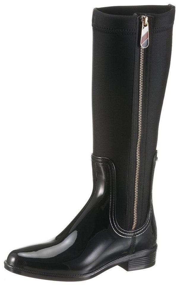 c8446be4baa521 TOMMY HILFIGER »Odette« Stiefel mit Reißverschluss außen online ...