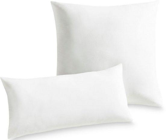 Microfaserkissen, »Utah«, Schlaf-Gut, Füllung: Schlafgut Polytherm, Bezug: Baumwoll-/Polyestergewebe, glatt, (1-tlg), Strapazierfähig und günstig