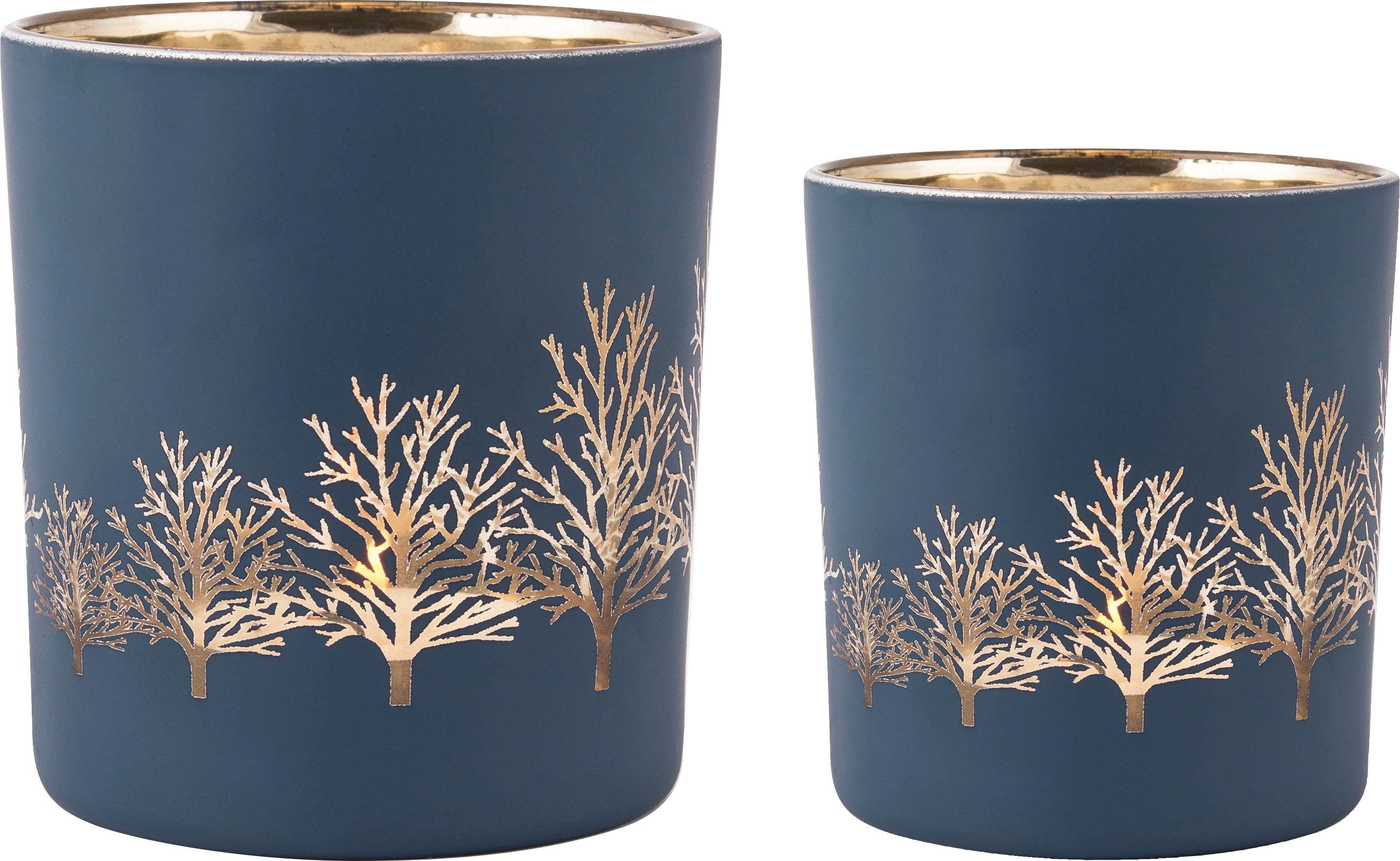Home affaire Kerzenhalter »Tree« 3er Set