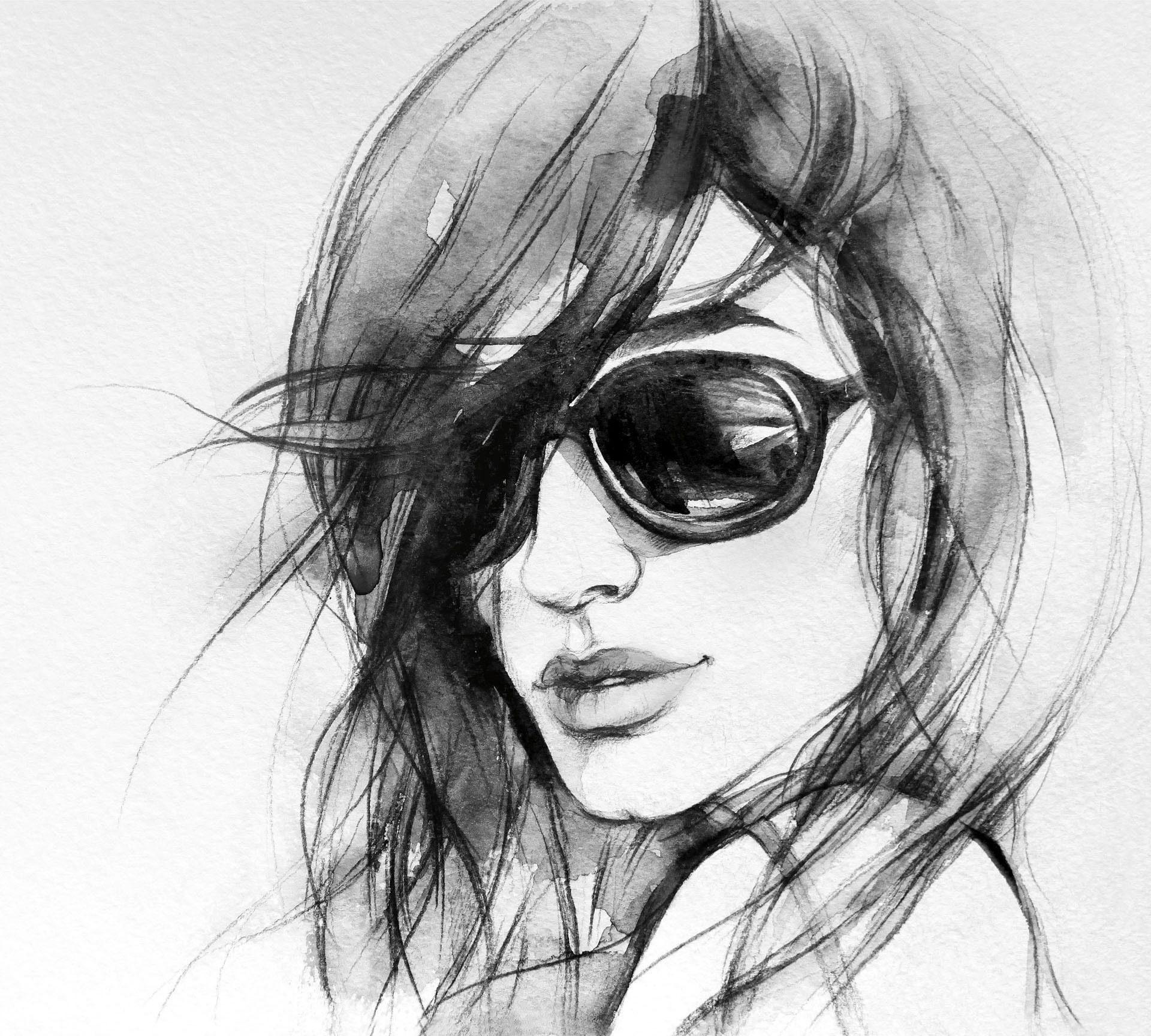 Fototapete »I wear my sunglasses« 288/260 cm
