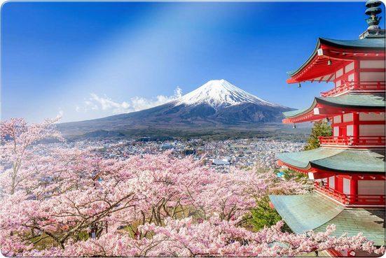 Glasbild »Mount Fuji«