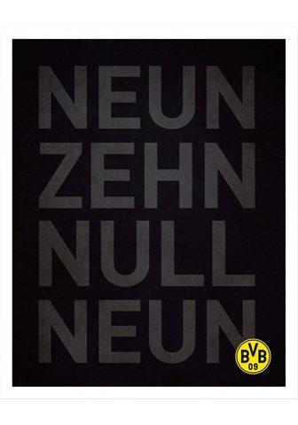 Plakatas »BVB Neun Zehn Null Neun« fut...