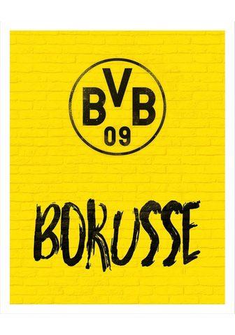 Plakatas »BVB Borusse« futbolo kamuoly...