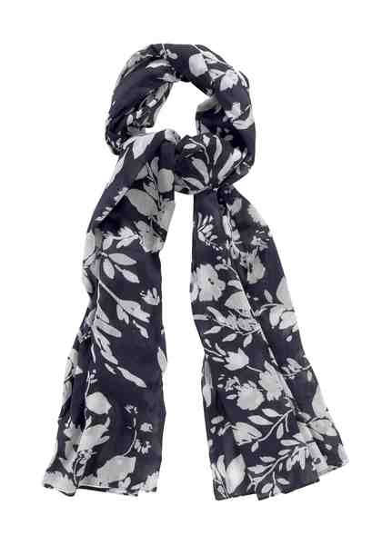 GUIDO MARIA KRETSCHMER Modeschal mit floralem Muster, Reine Baumwolle