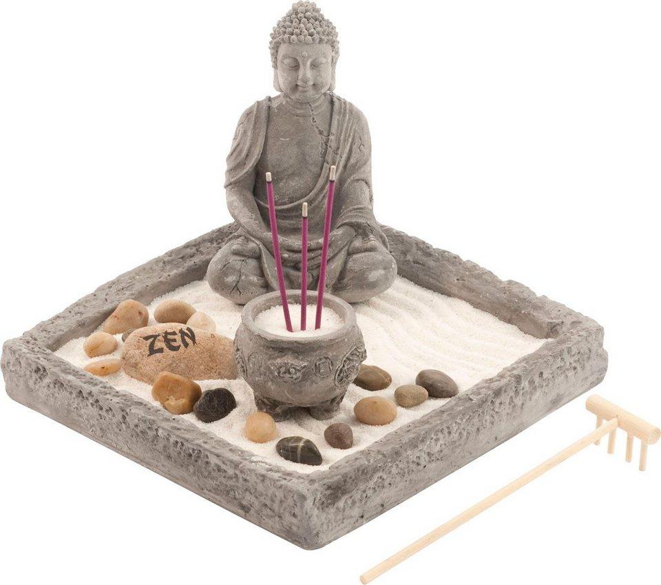 Home affaire zen garten buddha online kaufen otto - Zen garten miniatur ...