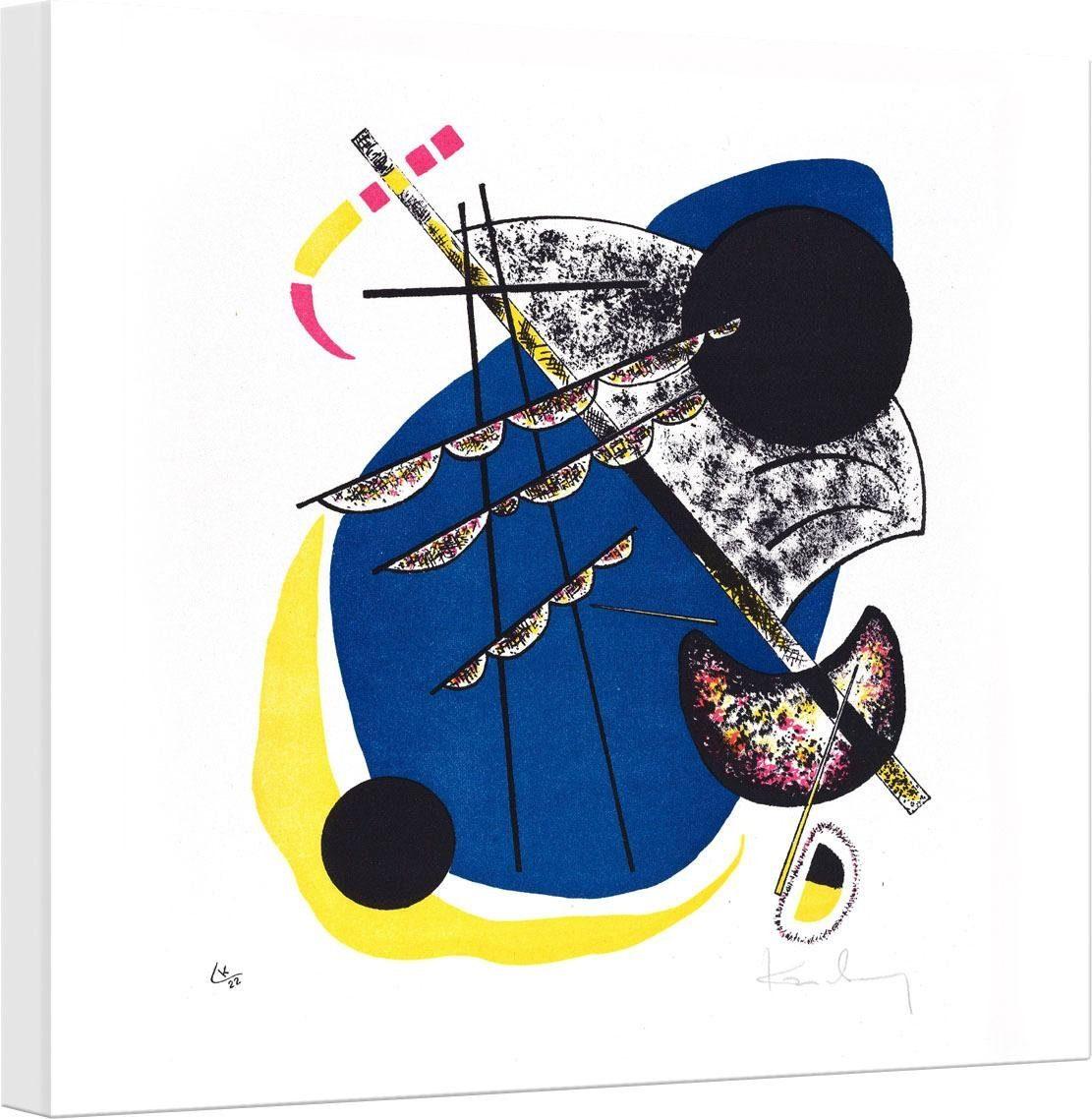 Leinwandbild »Kandinsky - Kleine Welten 2« 40/2/40 cm