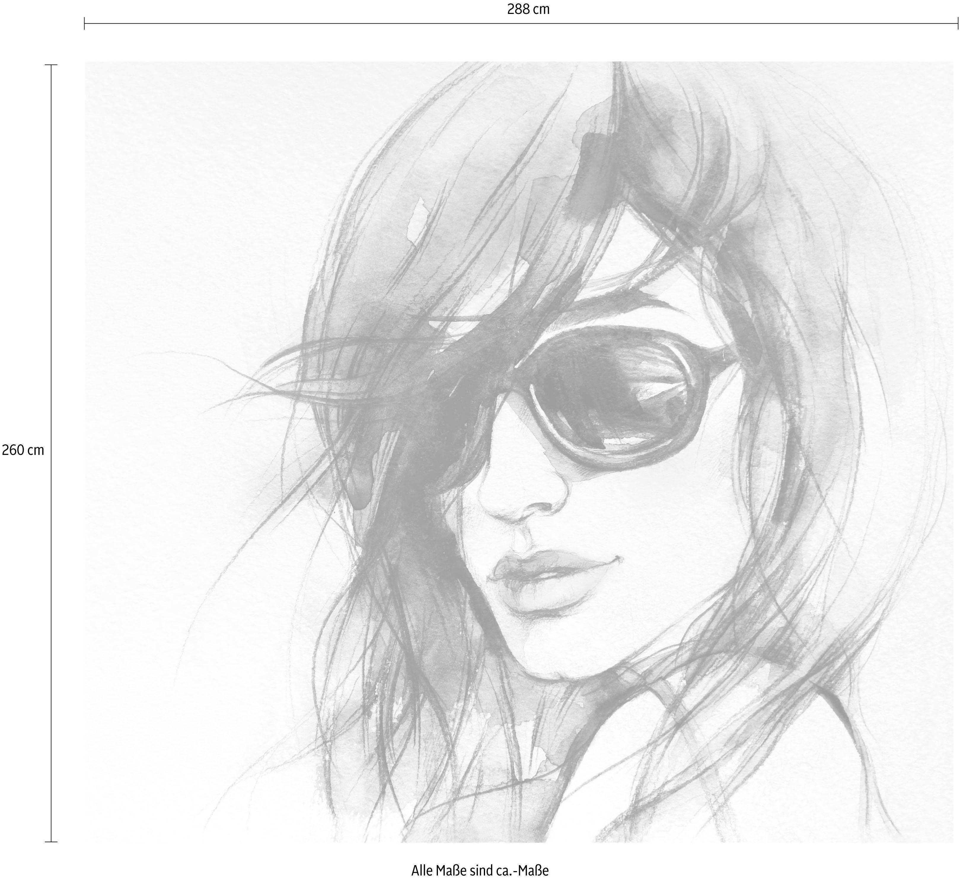Vliestapete I wear my sunglasses, Dekorative Tapete online kaufen