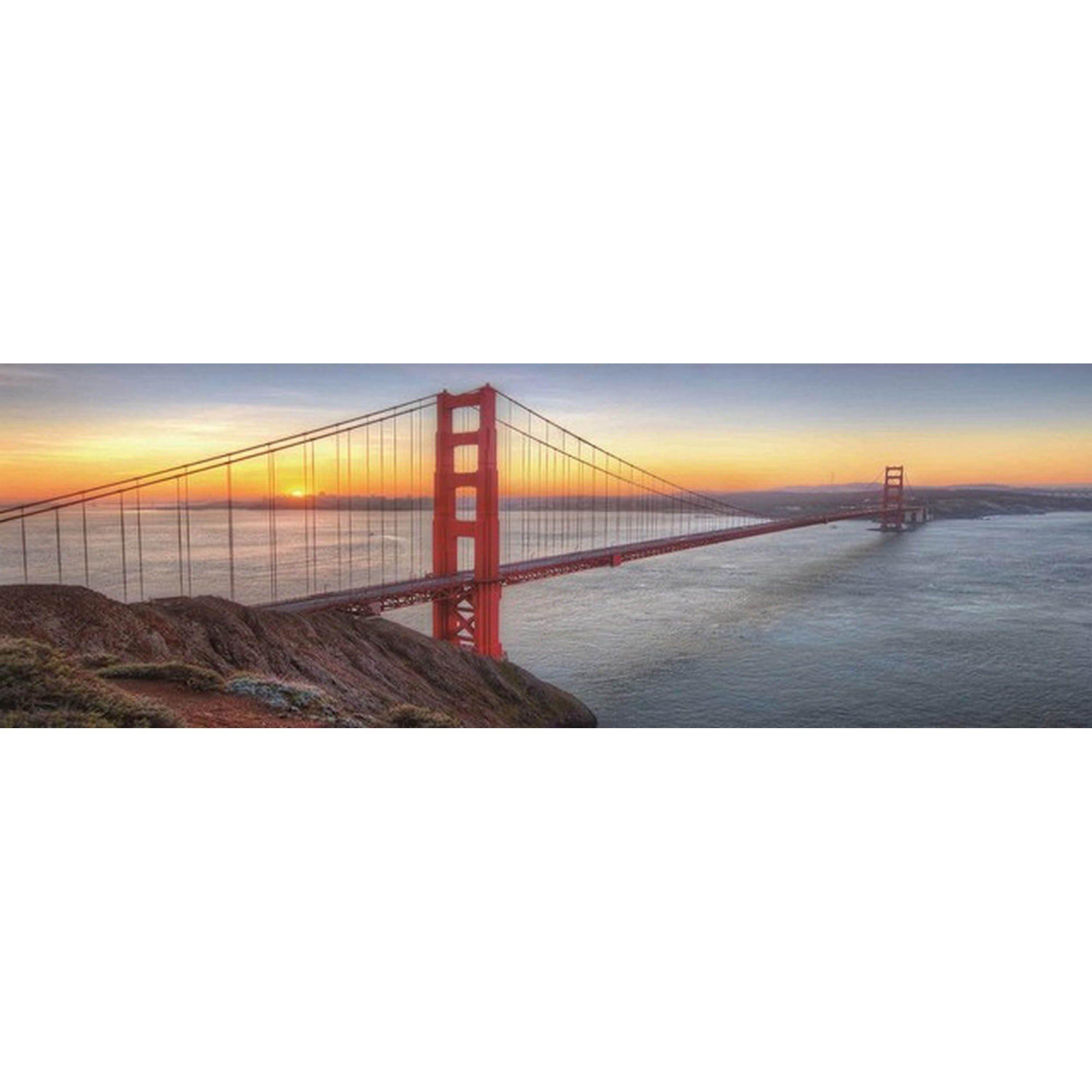 HTI-Living Glasbild »Golden Gate«