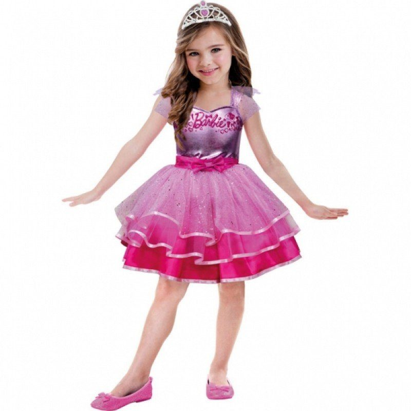 Barbie Ballerina Kinderkostüm