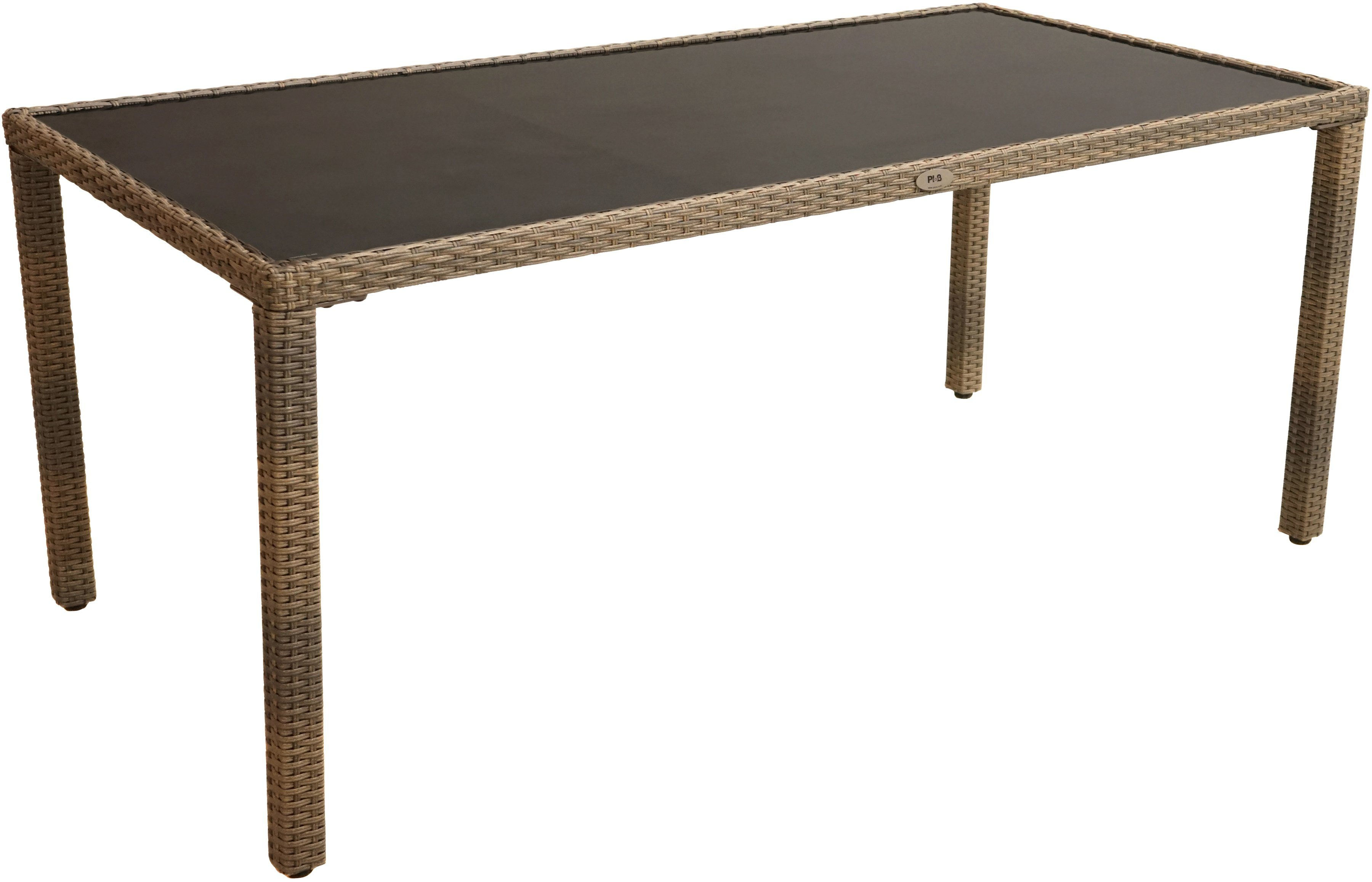 gartentisch polyrattan preisvergleich die besten angebote online kaufen. Black Bedroom Furniture Sets. Home Design Ideas