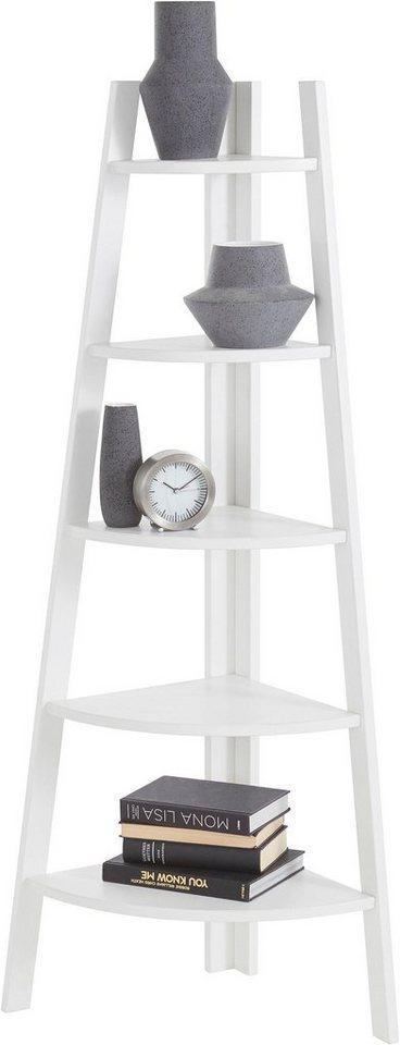 andas eckregal mit 5 f chern h he 140 cm kaufen otto. Black Bedroom Furniture Sets. Home Design Ideas