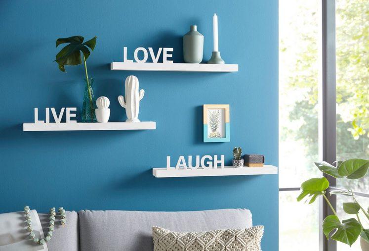 Home affaire Wandregal »Live - Love - Laugh«