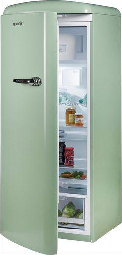 GORENJE Kühlschrank ORB153OL-L, 154 cm hoch, 60 cm breit, 154 cm hoch, 60 cm breit