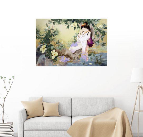 Posterlounge Wandbild - Haruyo Morita »Nemuri No Otome am See«