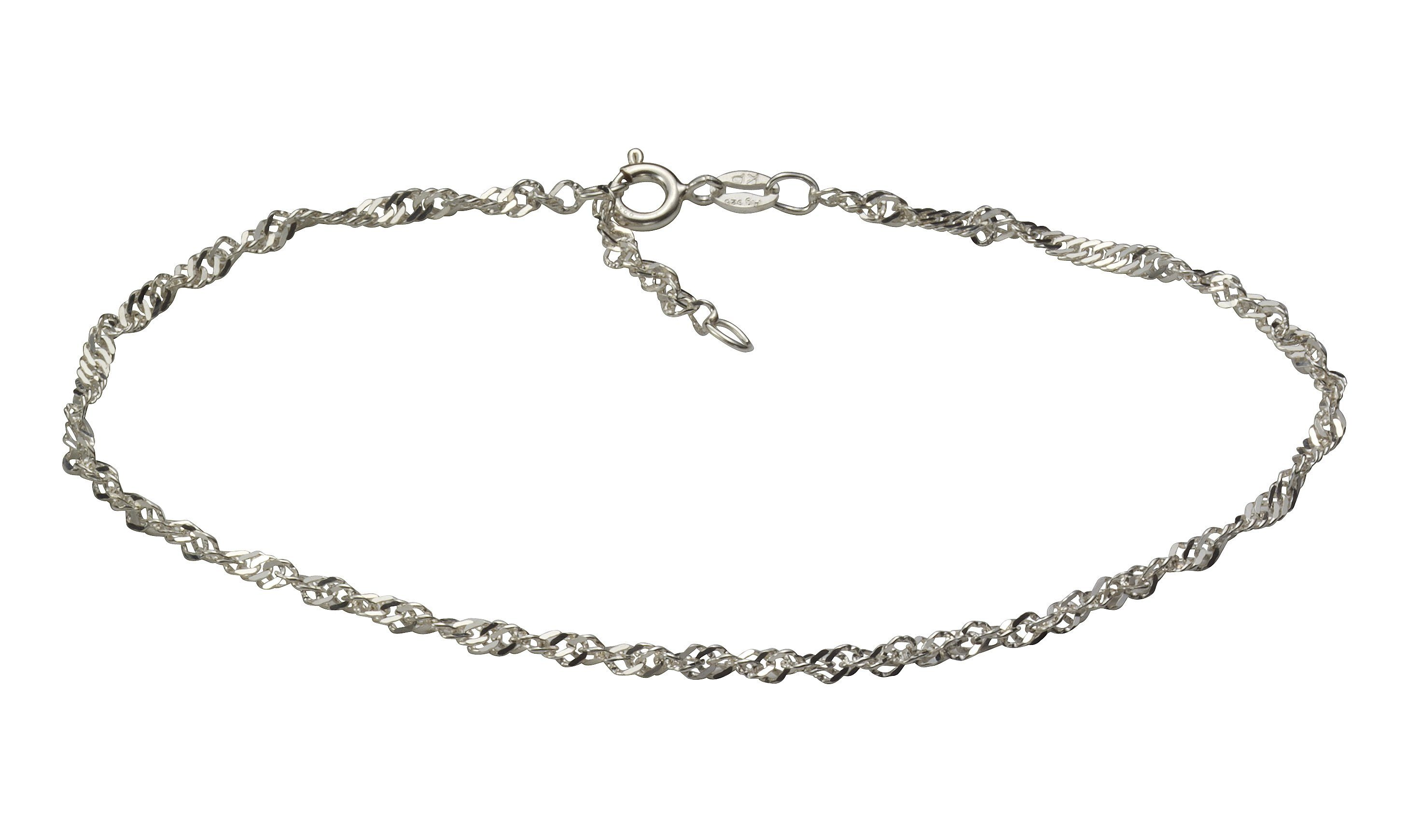VIVANCE Fusskette »925/- Sterling Silber rhod.«