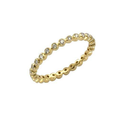 Diamonds by Ellen K. Ring »585/- Gelbgold Brilliant 0,30ct«
