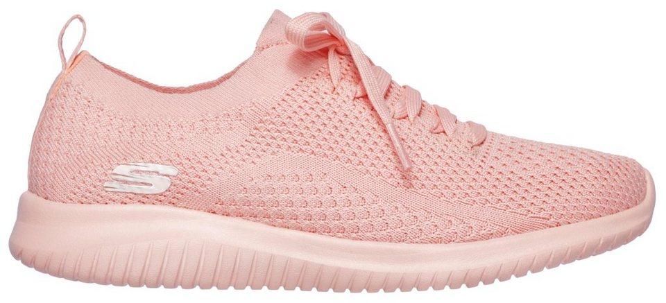 daac926994 Skechers »Ultra Flex« Slip-On Sneaker mit aufgesetzter Schnürung ...