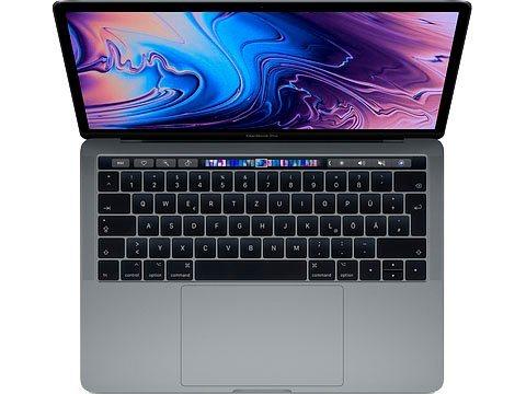 MacBook Pro (2018) Touch Bar Notebook (33,78 cm/13,3 Zoll, Intel Core i5, Iris Plus Graphics, 512 GB SSD)