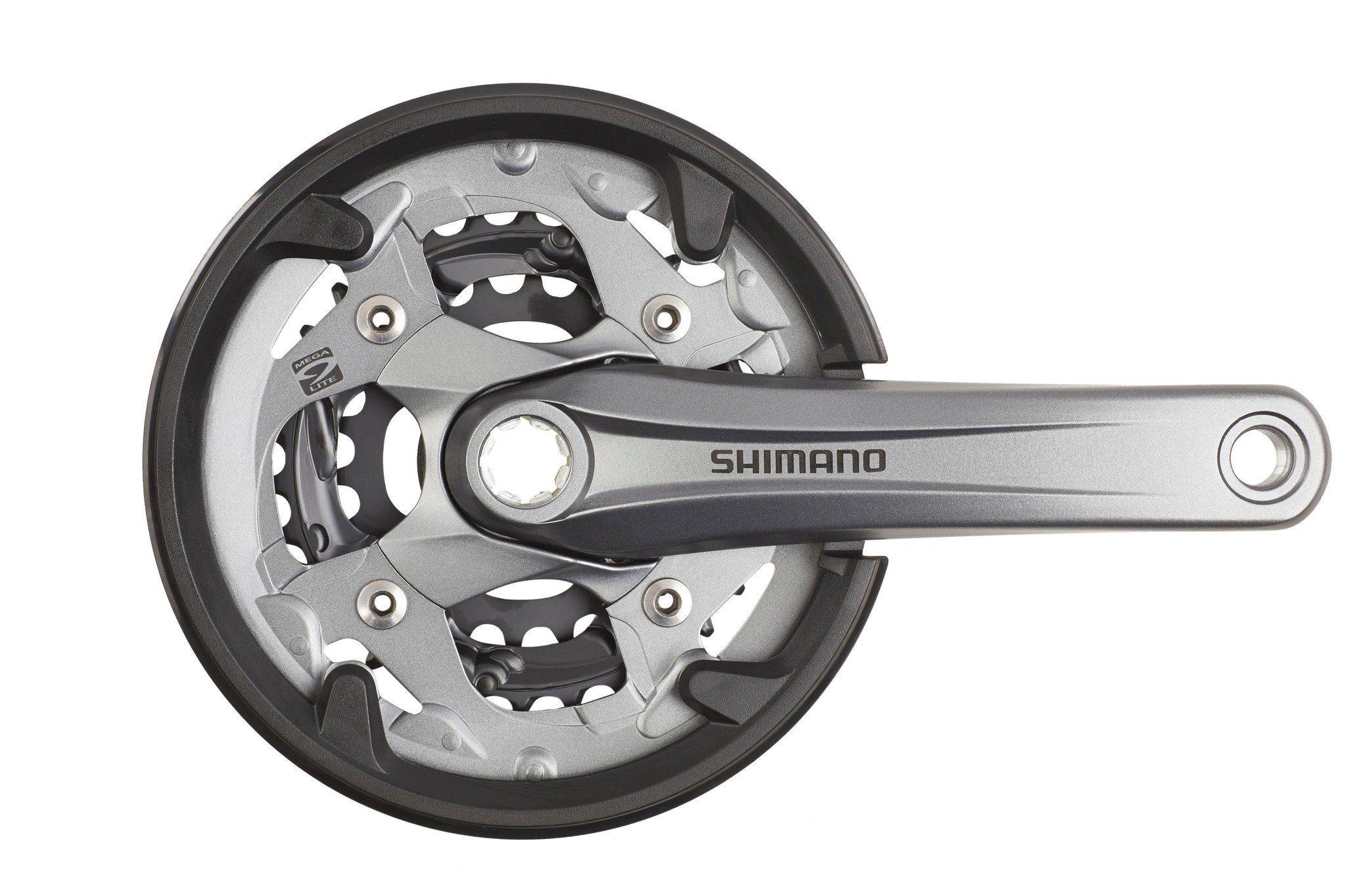 Shimano Kurbel »Alivio FC-M4000 Kurbelgarnitur 40/30/22, 9-fach«