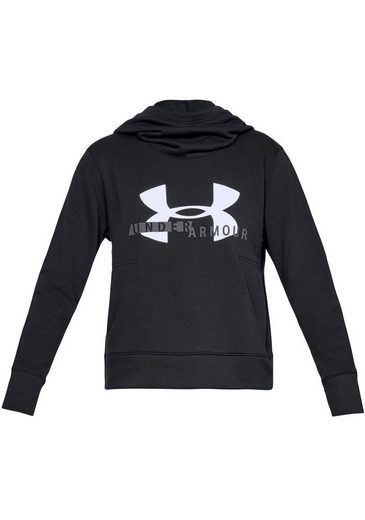 Sportstyle Logo »cotton Kapuzensweatshirt Under Hoodie« Armour® Fleece Bqw6FngI