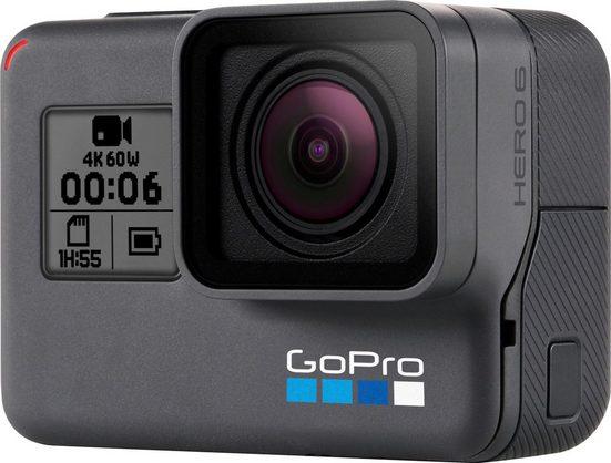 GoPro HERO6 4K (Ultra-HD) Actioncam, GPS, WLAN, Bluetooth