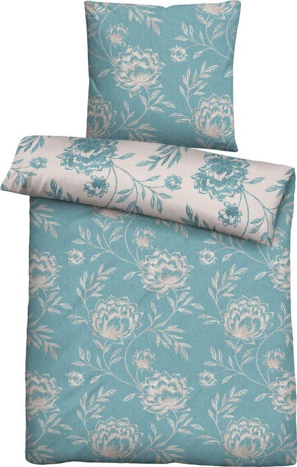 bettw sche ferris biberna mit blumen kaufen otto. Black Bedroom Furniture Sets. Home Design Ideas