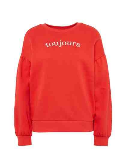 Tom Tailor Denim Sweatshirt »Sweatshirt mit Ballonärmeln«