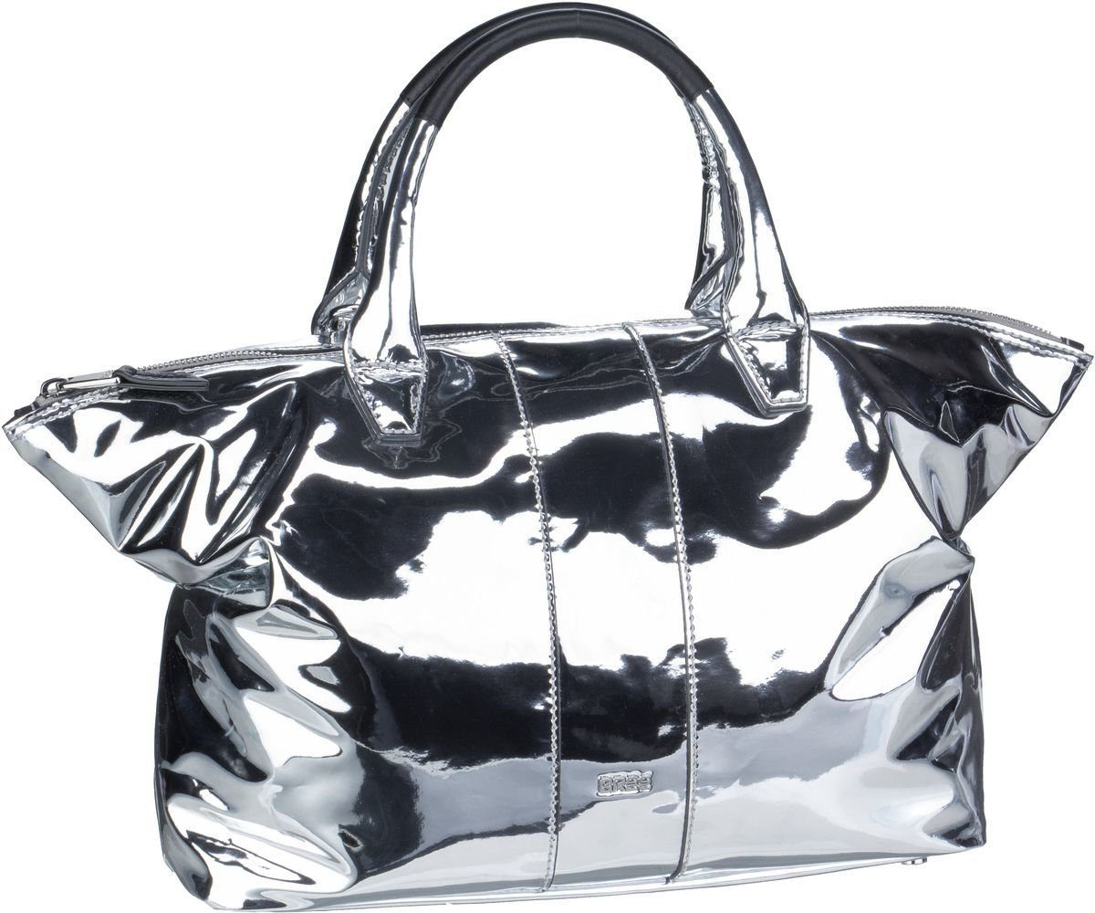 BREE Handtasche »Icon Bag M Silver«