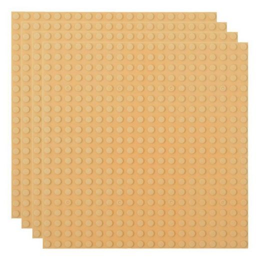 Basisplatte 20x20 Sand Viererpack