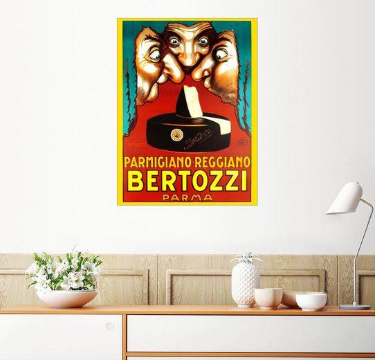 Posterlounge Wandbild - Achille Lucien Mauzan »Bertozzi Parmigiano Reggiano«