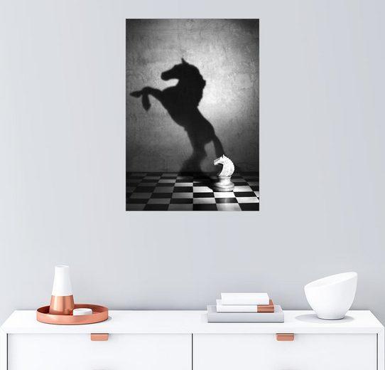 Posterlounge Wandbild - Victoria Ivanova »Seele eines Mustang«