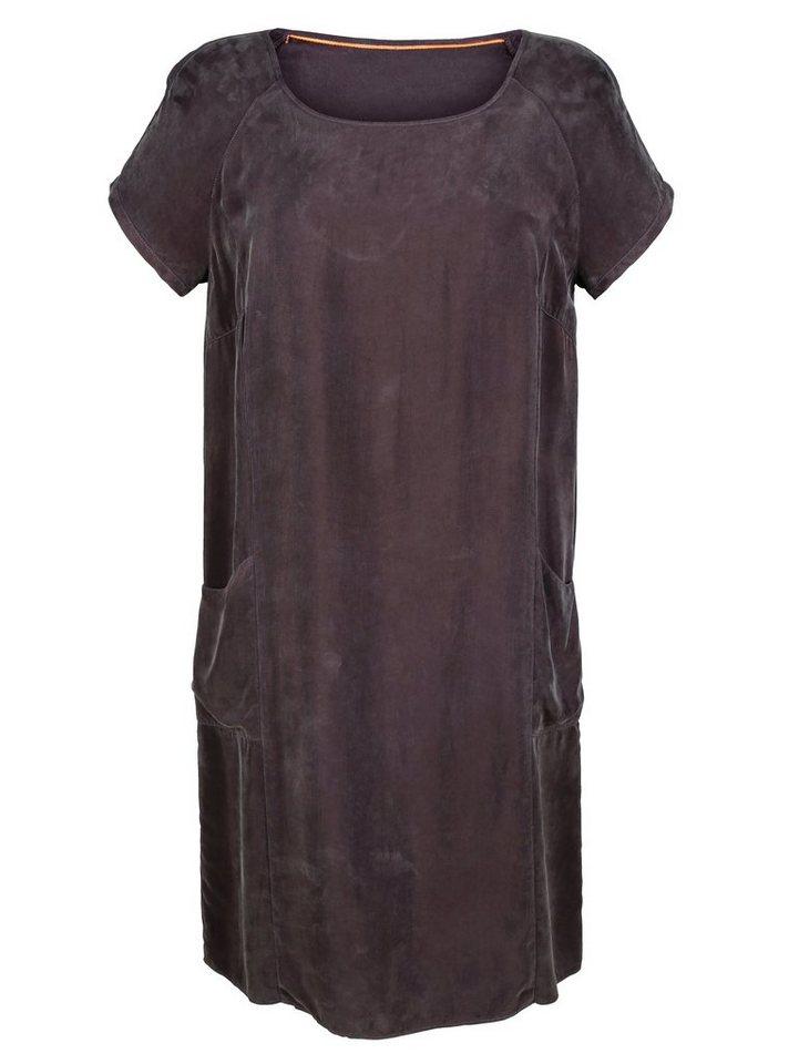 Damen Alba Moda  Tunikakleid aus softer Cupro-Qualität  | 04055714467553