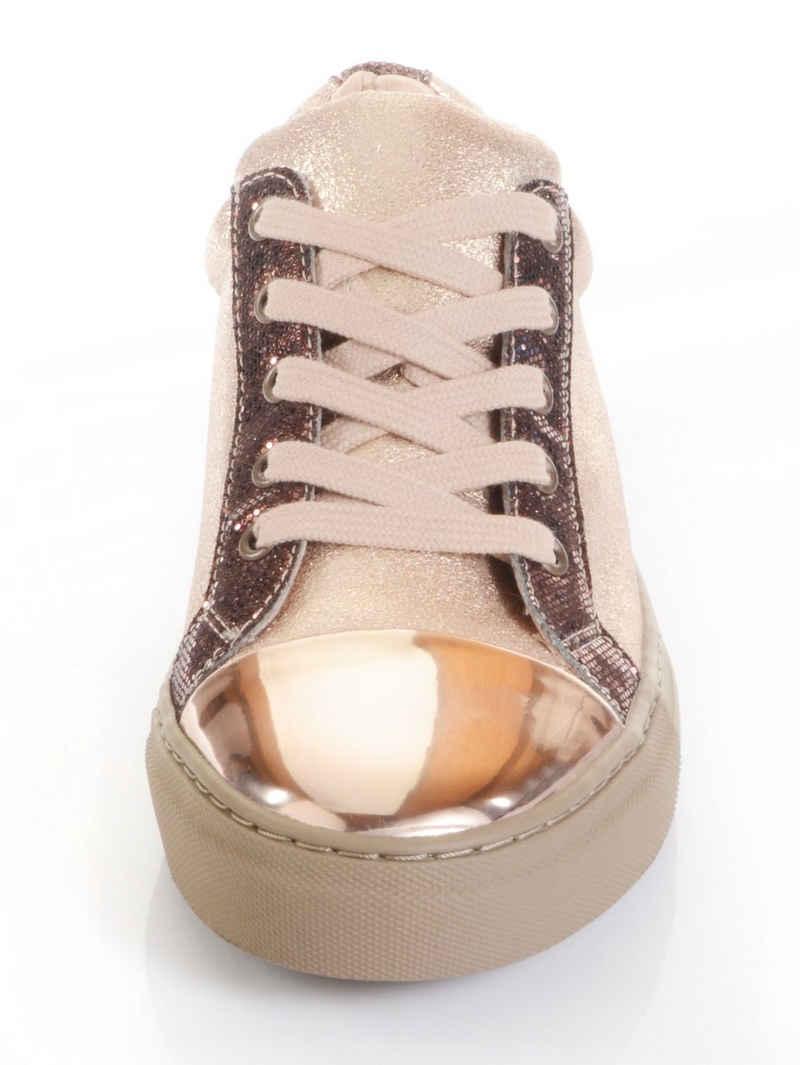 Alba Moda Sneaker mit Glanz-Kappe