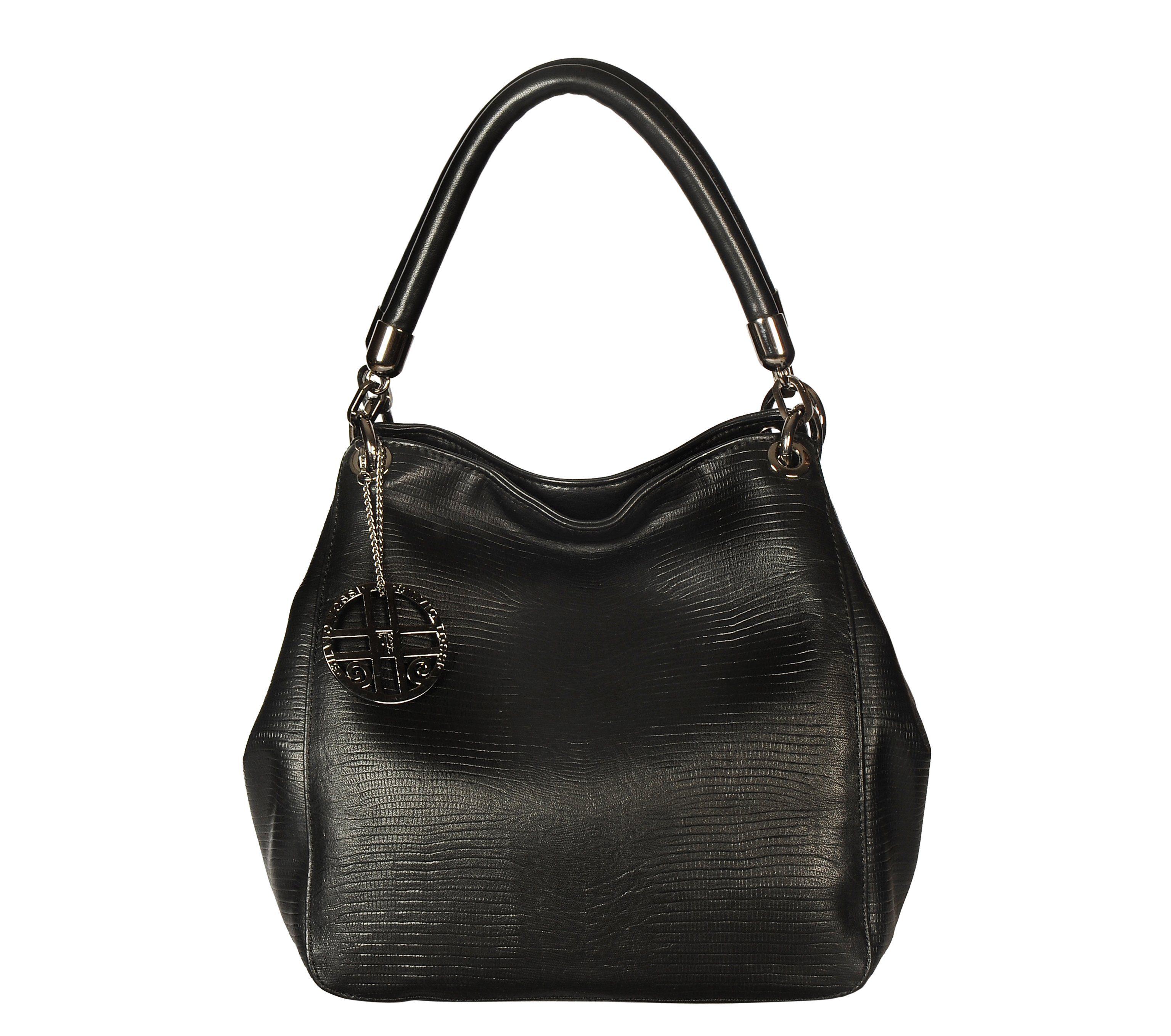Silvio Tossi Handtasche im Echsen-Design