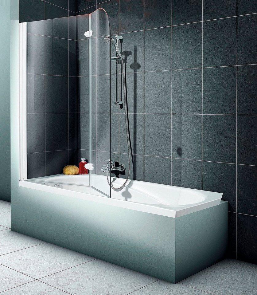 schulte badewannenaufsatz 2 teilig 112 x 140 cm otto. Black Bedroom Furniture Sets. Home Design Ideas