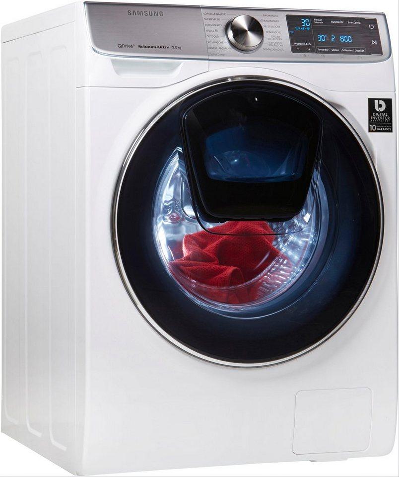 samsung waschmaschine ww7800 quickdrive ww91m760noa eg 9 kg 1600 u min addwash online kaufen. Black Bedroom Furniture Sets. Home Design Ideas