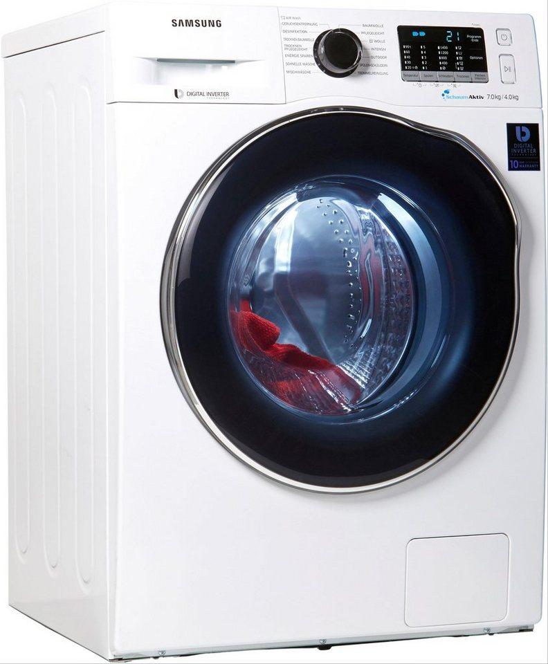 Samsung Waschtrockner WD5000 WD70J5A00AW 7 Kg 4 1400 U Min