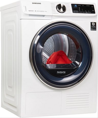 samsung w rmepumpentrockner dv6800 quickdrive dv81n62532w eg 8 kg online kaufen otto. Black Bedroom Furniture Sets. Home Design Ideas