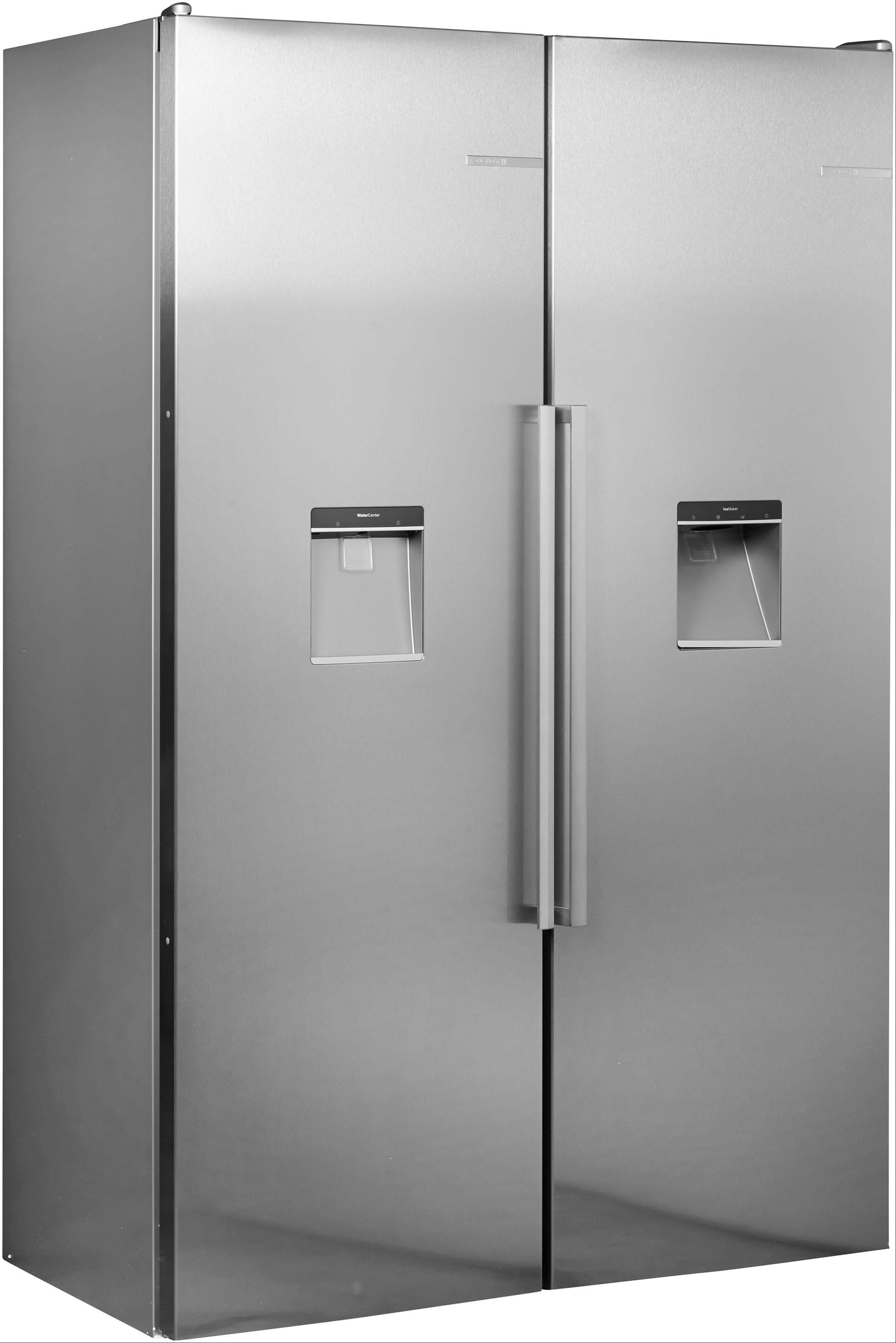 BOSCH Side-by-Side Serie 6 KAD95BI2P, 187 cm hoch, 120 cm breit