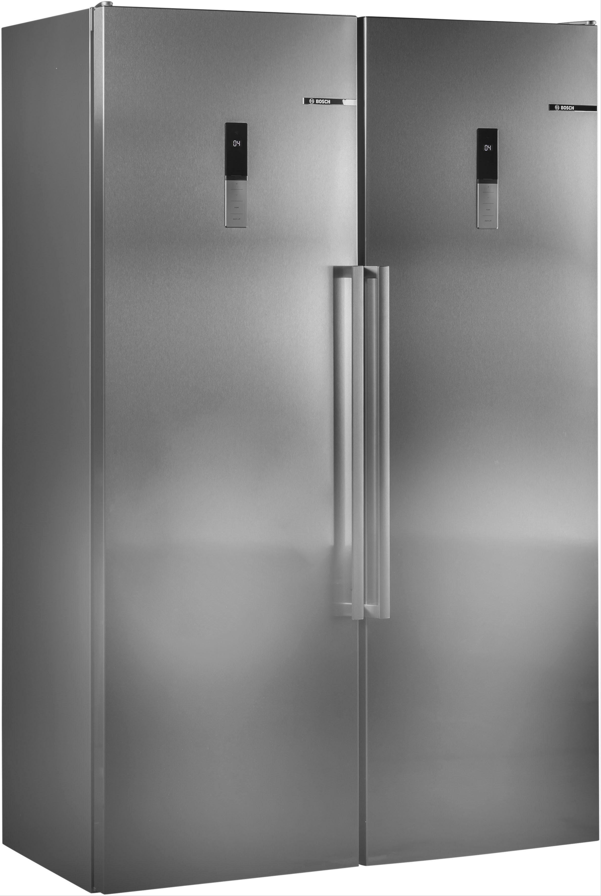 BOSCH Side-by-Side Serie 6 KAN95BI3P, 187 cm hoch, 120 cm breit